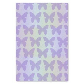 "Purple Butterflies 10"" X 15"" Tissue Paper"