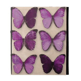 Purple Butterflies iPad Cases