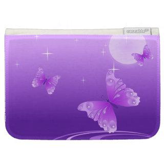 Purple Butterflies Kindle 3 Cases
