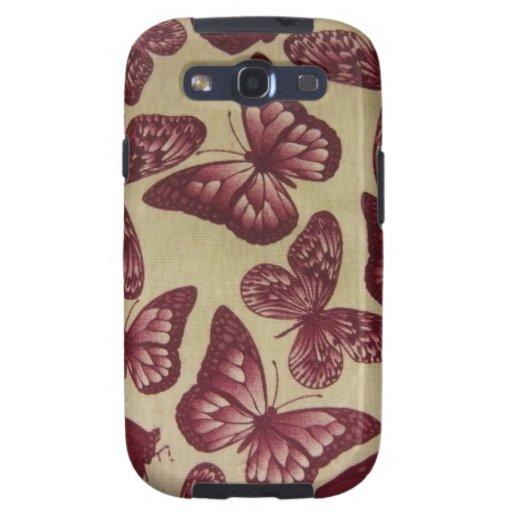Purple Butterflies Galaxy S3 Cases