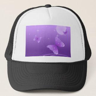 Purple Butterflies in the Sun Trucker Hat