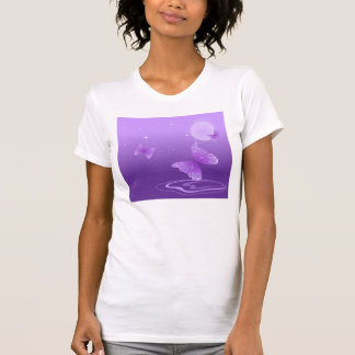 Purple Butterflies in the Sun Shirt