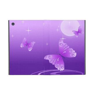 Purple Butterflies iPad Mini Covers
