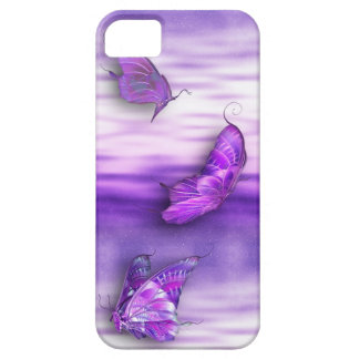 Purple Butterflies iPhone4 iPhone SE/5/5s Case