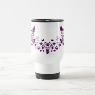 Purple Butterflies Mugs
