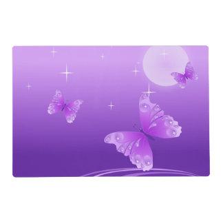 Purple Butterflies Placemat