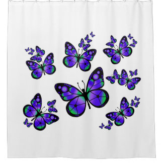 Purple Butterfly Shower Curtain 28 Images Butterfly