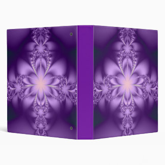 Purple butterflower binder
