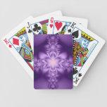 Purple butterflower card deck