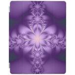 Purple butterflower iPad cover