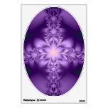 Purple butterflower room graphics
