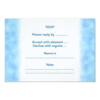 Purple Butterfly. 3.5x5 Paper Invitation Card