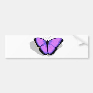 Purple Butterfly! Bumper Sticker