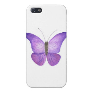 Purple Butterfly case iPhone 5 Cover