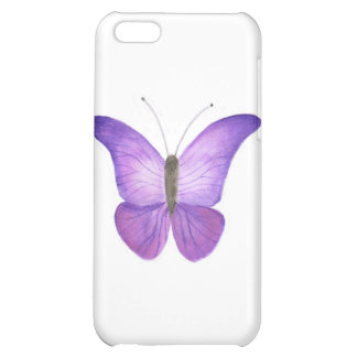 Purple Butterfly case iPhone 5C Cases