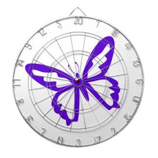 Purple Butterfly Dart Boards