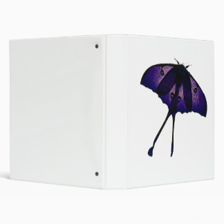 Purple Butterfly Drawing Photograph Sketch Binder