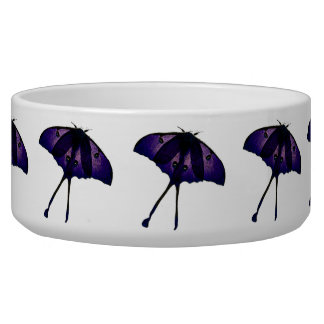 Purple Butterfly Drawing Photograph Sketch Pet Bowl