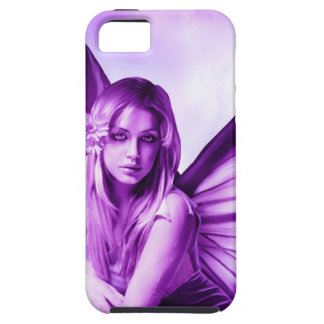Purple Butterfly Fairy iPhone Case
