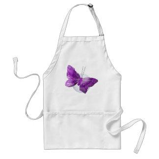 Purple Butterfly Fantasy Moon Designs Adult Apron
