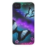 Purple Butterfly Genesis Case-Mate iPhone 4 Case