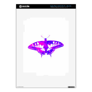 Purple Butterfly iPad 3 Decals