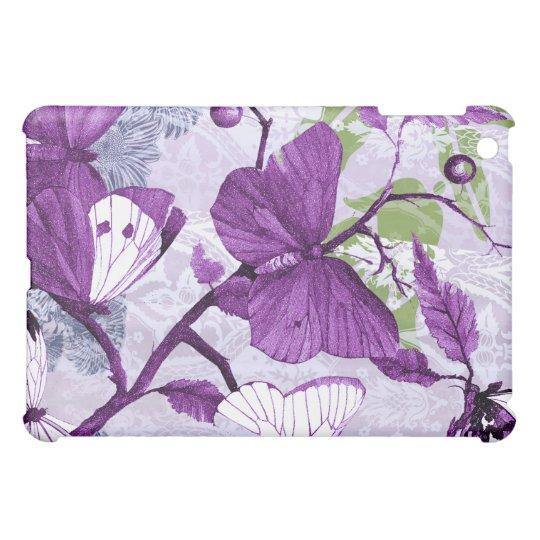 Purple Butterfly  iPad Mini Cover