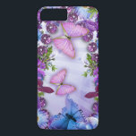 "Purple Butterfly iPhone 8 Plus/7 Plus Case<br><div class=""desc"">Purple Butterfly Case-Mate Barely There iPhone 6 Plus Case</div>"