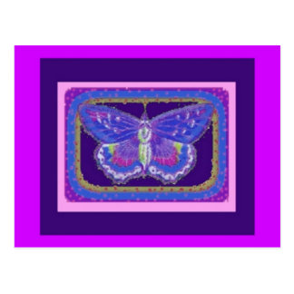 Purple Butterfly Lover's Gifts by Sharles Postcard