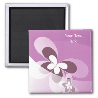 Purple Butterfly Magnet