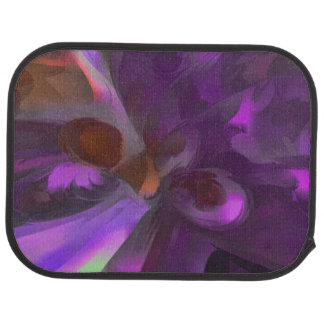 Purple Butterfly Pastel Abstract Car Floor Mat