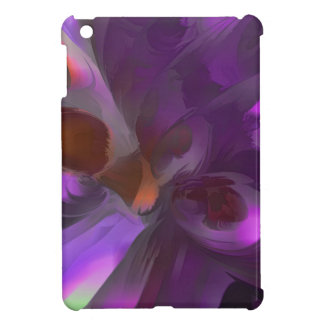 Purple Butterfly Pastel Abstract iPad Mini Covers