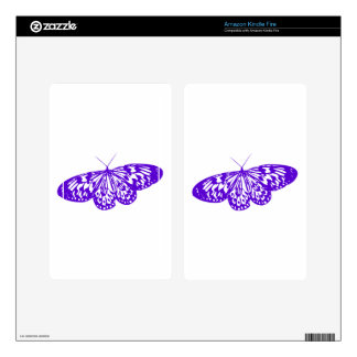 Purple Butterfly Decals For Kindle Fire