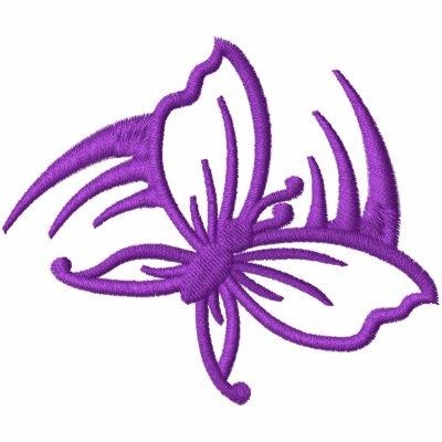 Purple Butterfly Swoosh