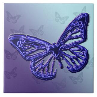 Purple Butterfly Tile