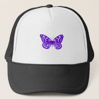 Purple Butterfly Trucker Hat
