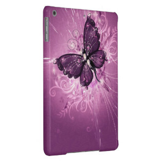 purple butterfly vector art iPad air covers