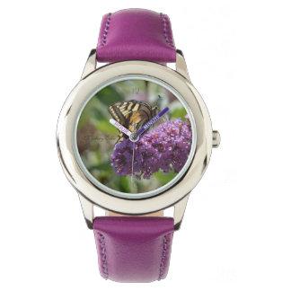 """""""purple"""" by mysteryella wrist watch"""