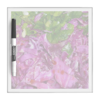 purple cabbage green onions vegetable food Dry-Erase board