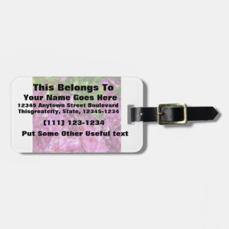 purple cabbage green onions vegetable food luggage tag