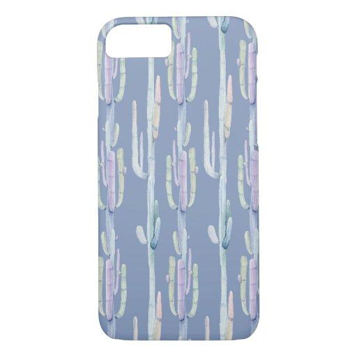 Purple Cactus iPhone Case