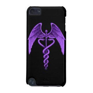 Purple Caduceus Medical Symbol Ipod Touch Case