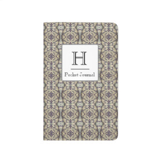 Purple Caladium Pocket Journal