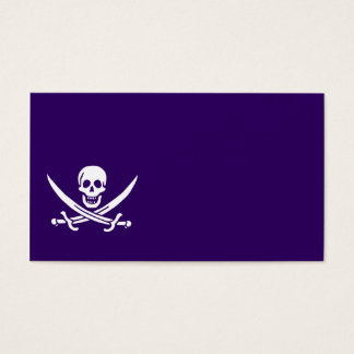 Purple Calico Jack Business Card