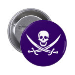Purple Calico Jack Buttons