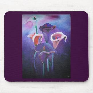Purple Calla Mouse Pad