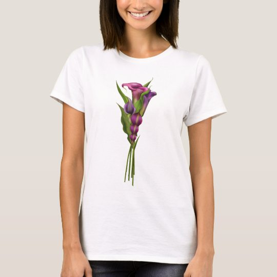 Purple Callas T-Shirt