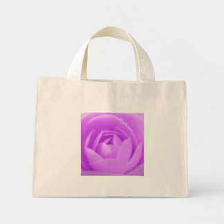 Purple Camellia Tote Bag