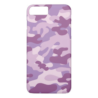 Purple Camo Design iPhone 7 Plus Case