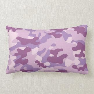 Purple Camo Design Pillows